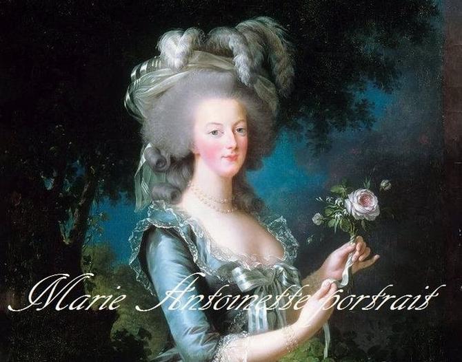 マリーアントワネットの肖像画